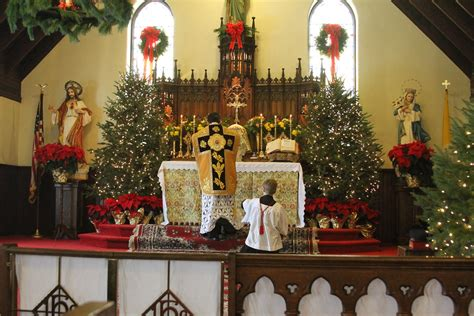 christmas day st jude roman catholic church sspx flickr