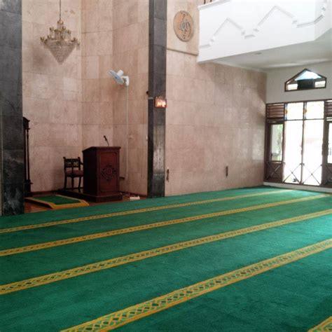 Karpet Masjid Lokal karpet masjid al musyawarah pondok indah pusat karpet masjid