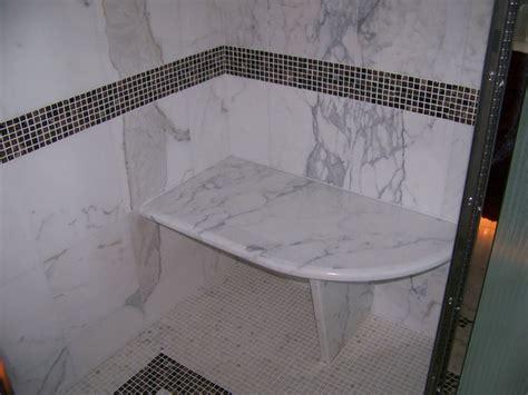 marble shower bench calacatta marble shower seat