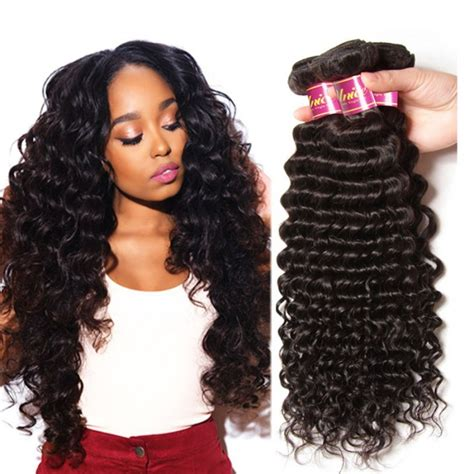 brazillian wave curls hairstyles unice brazilian deep wave human virgin hair 4 bundles unice