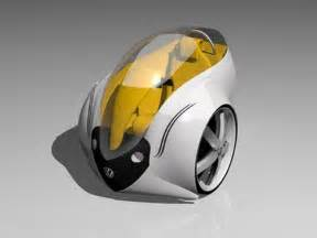 Electric Vehicles Future Future Transportation Futuristic Car Single Rider