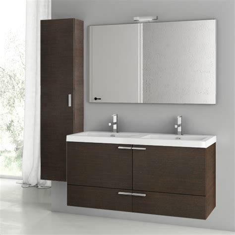 47 inch wenge bathroom vanity set contemporary