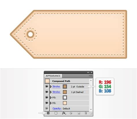 make price tip how to create a simple price tag icon