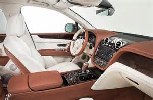 Inside Bentley Bentley Bentayga The Fastest Most Luxurious And
