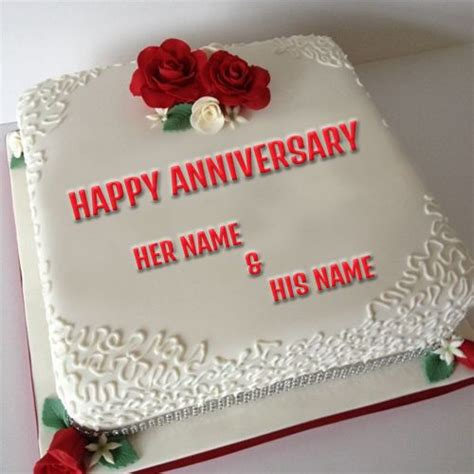 write  couple   anniversary cake picture wishes pinterest wedding couple