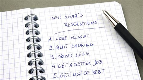 best new year s resolutions ideas for 2013