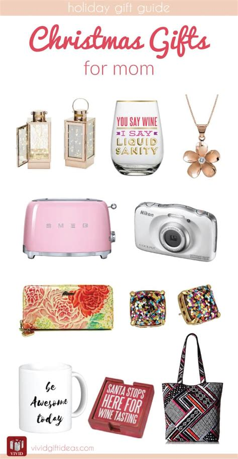 christmas holiday gift guide for mom vivid s