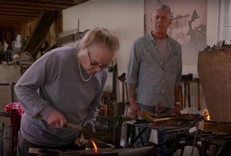 anthony bourdain and tre cool blacksmith elizabeth brim is a badass on craft with