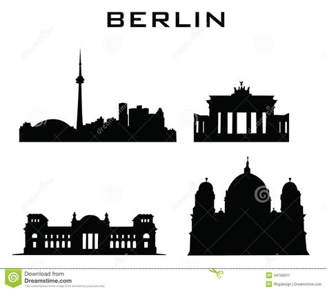 Block House Plans Berlin Buildings Architecture Stock Image Image 34756911