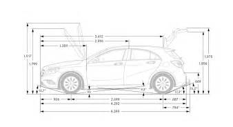 the chassis and suspension of the mercedes a class 2013