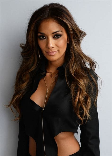 nicole s nicole scherzinger s outfit at the temperley london show
