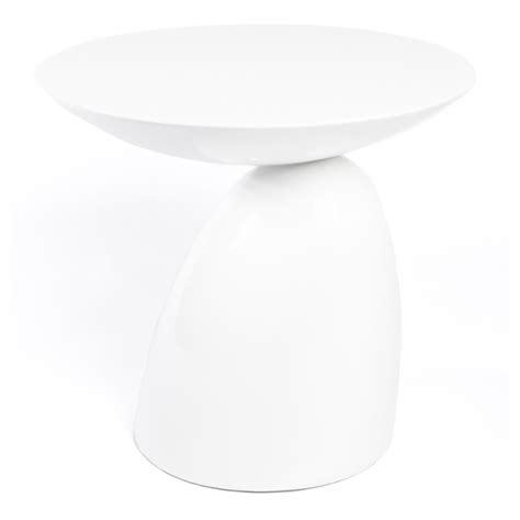 funky side tables white parabel contemporary funky side table 163 229 99