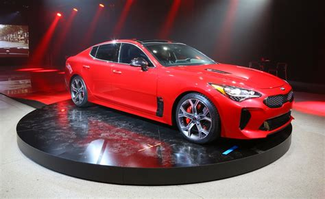 on car detroit show kia stinger targets the germans news the