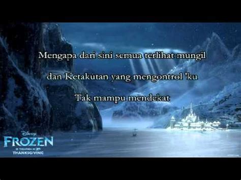 film frozen let it go bahasa indonesia disney frozen let it go indonesian cover youtube