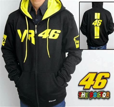 Jaket Hoodie Moto Gp jaket hoodie vr 213k moto gp ventino 46 the doctor
