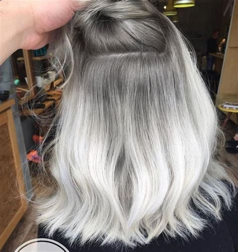 ombre for older 75 ombre hair color for grey silver ombre hair color