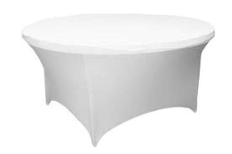 table cover 5ft table cover white spandex event essentials