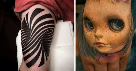 three d tattoos 25 mind bending 3d tattoos
