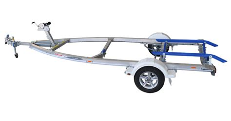 are aluminum boat trailers better than steel 749kg alloy trailer
