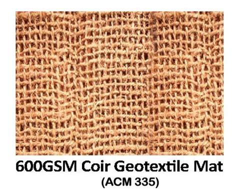 Coir Fiber Matting Erosion by Coir Geotextile Mat Aroor Coir Mattings Co Operative