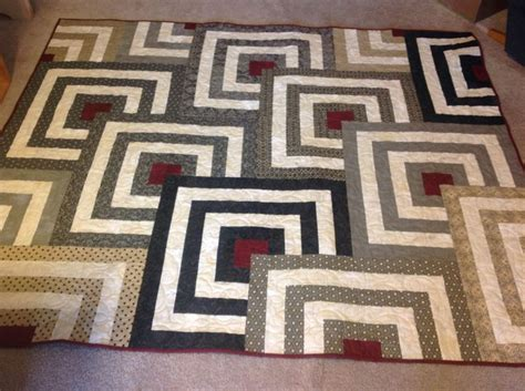 Mesmerize Quilt Pattern by This Quilt Is Called Mesmerize Done In Black Dress