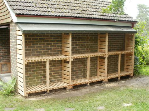 Shed With Wood Store by How To Build A Storage Shed Out Of Wood