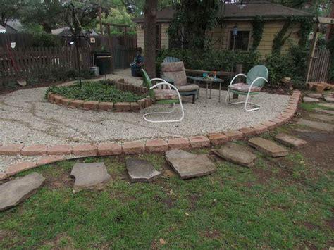gravel patio ideas gardening landscaping pea gravel patio ideas