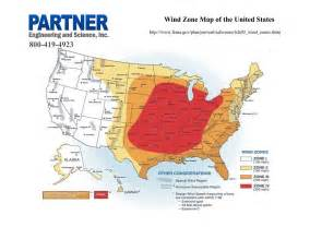 united states wind map wind zone map