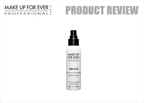 Makeup Forever Mist Fix raz magazine product review make up for