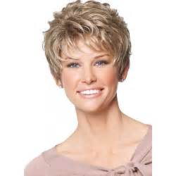 hair wigs for 50 short shaggy layered haircut synthetic hair monofilament