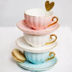 belle teacup in duck egg blue bombay duck