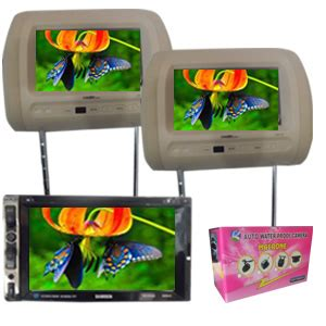 Tv Mobil Samisen paket tv headrest monitor toko audio mobil serpong