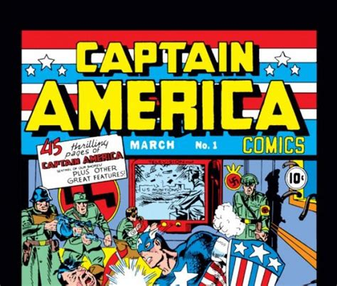 Captain America Marvel America 1 captain america comics 1941 1 comics marvel