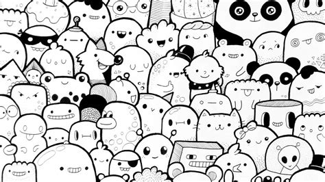 doodle character just a doodle characters