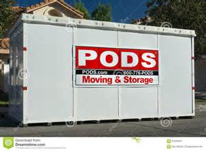 moving pod pods moving and storage cube editorial photo image 61626041