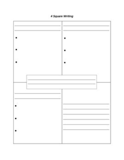 four square template best 25 four square writing ideas on five dice writing activities and opinion
