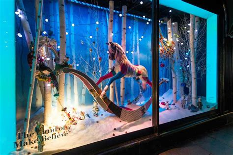 Harrods Celebrates Christmas With The Land Of Make Believe Harrods Lights 2014