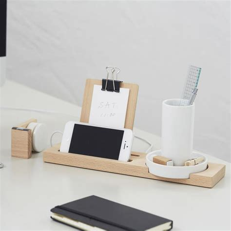 modern desk organizers modern wood desk organizer station design ideas