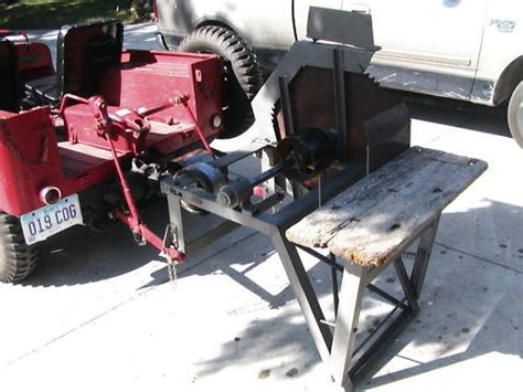 Jeep Winch For Sale 1946 Willys Cj 2a Jeep With Buzz Saw Attatchment Capstan