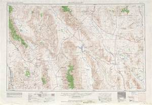 valley topographic maps ca nv usgs topo