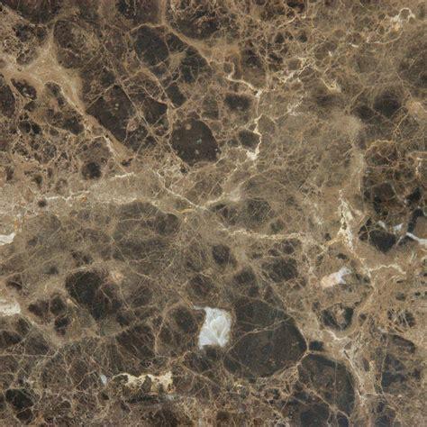ms international emperador dark in x in tumbled marble floor brown marble floor tiles in