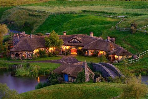 hobbit houses new zealand new zealand simple interesting