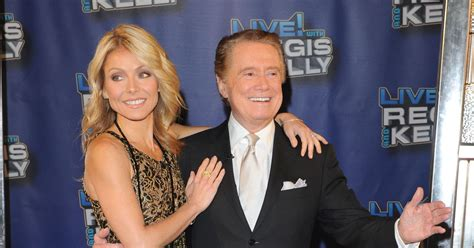kelly ripa i havent kept in touch with regis ny daily news here s why regis philbin wouldn t talk to kelly ripa off