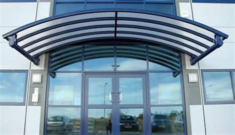 The Canopy Company Entrance Canopies In Polycarbonate Glass Tensile Or