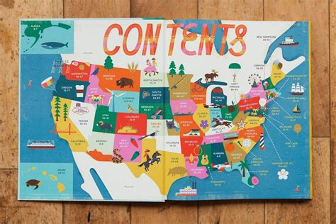 states of the union books the 50 states illustrated maps by gabrielle balkan