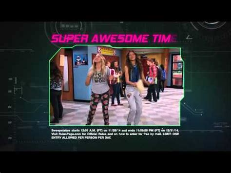 Disney Channel Com Sweepstakes - k c undercover hollywood spy away sweepstakes youtube