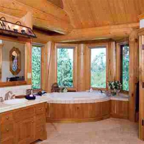 log bathrooms log bathroom dream home pinterest