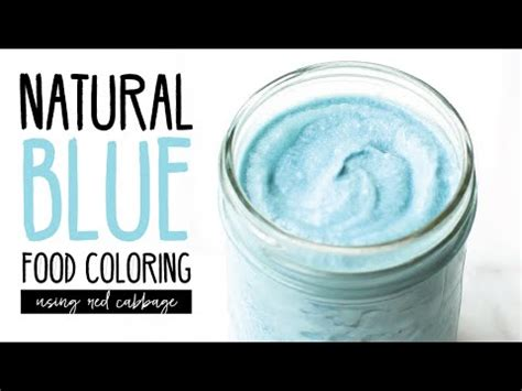 blue food coloring how to blue food coloring with cabbage