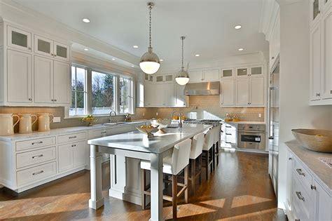 carrara marble kitchen island 57 luxury kitchen island designs pictures designing idea