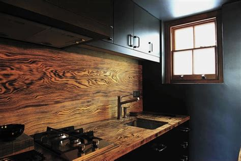 Wood Kitchen Backsplash Ideas | 50 kitchen backsplash ideas